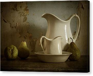Pitcher Canvas Print - A Simpler Time by Amy Weiss
