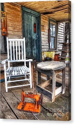 Shed Canvas Print - A Simpler Time II - Rural North Carolina by Dan Carmichael