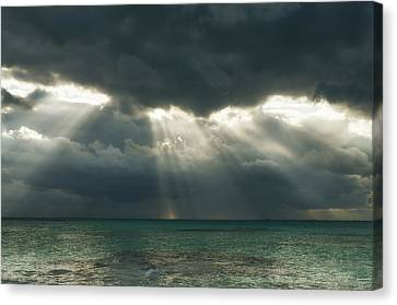 A Sliver Of Hope Canvas Print by Photography  By Sai