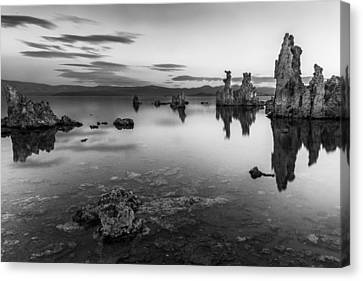 A Slow Dawn Canvas Print by Jon Glaser