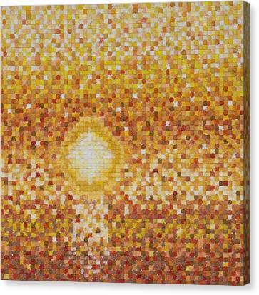 A Slow Set - Orig Sold Canvas Print
