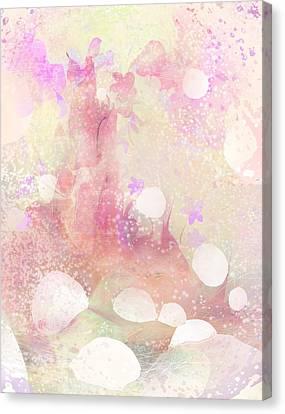A Sparrow Sings Alone Canvas Print by Rachel Christine Nowicki
