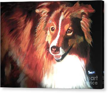 A Special Friend Canvas Print by Sharon Burger