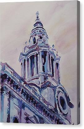 A Spire Of Saint Paul's Canvas Print by Jenny Armitage