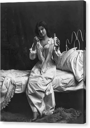 A Spoonful Of Laudanum Canvas Print by Daniel Hagerman