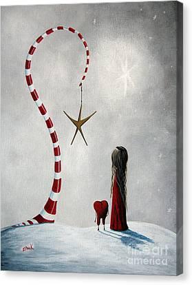 A Starlit Wish By Shawna Erback Canvas Print by Shawna Erback