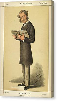 A Statesman Canvas Print by British Library