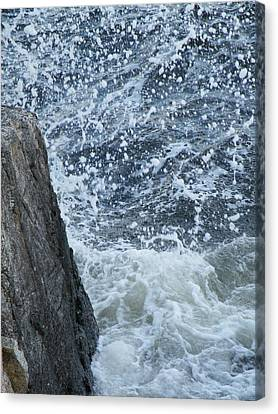 Canvas Print featuring the photograph A Stillness In The Storm  by Brian Boyle