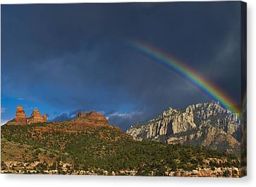 A Stitch In Time Canvas Print by Tom Kelly