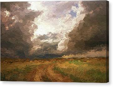 A Stormy Day Canvas Print by Steve K