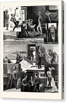 A Subalterns Experiences During The Recent Russian War Canvas Print
