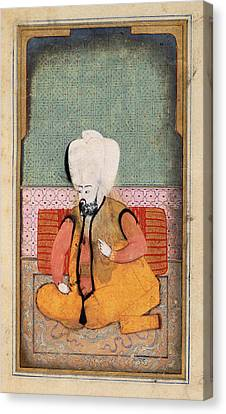 A Sultan Canvas Print by British Library
