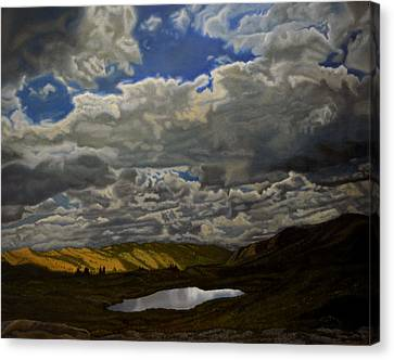 A Summer Day On Cottonwood Pass Canvas Print by Thu Nguyen