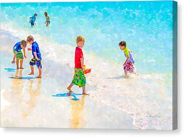A Summer To Remember Canvas Print by Susan Molnar