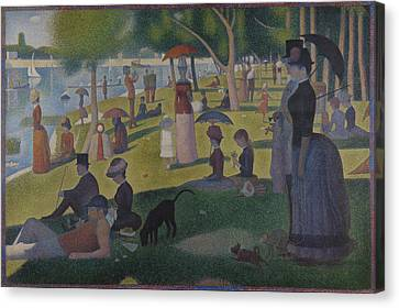 A Sunday On La Grande Jatte Canvas Print