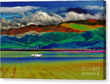 Canvas Print featuring the photograph A Surreal Ride by Susan Wiedmann