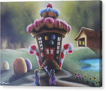 A Sweet Sight Canvas Print