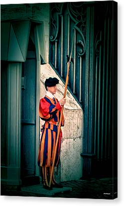 A Swiss Guard Canvas Print