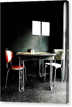 A Table For Two Canvas Print by Steve Taylor