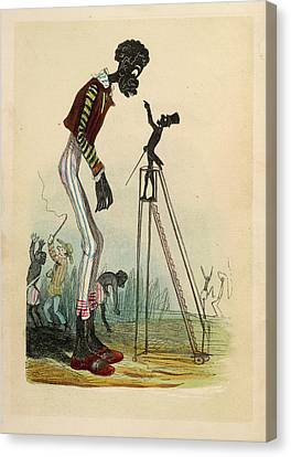 A Tall Slave Canvas Print by British Library