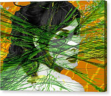 A Tangled Web Canvas Print by Seth Weaver