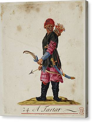 Munitions Canvas Print - A Tartar by British Library