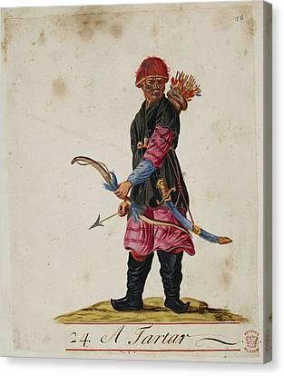 A Tartar Canvas Print by British Library