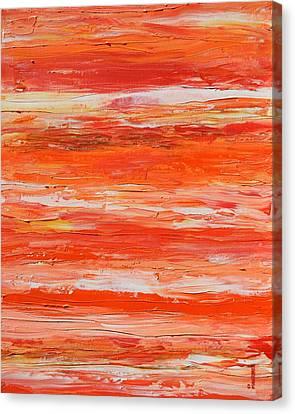 A Thousand Sunsets Canvas Print by Donna  Manaraze