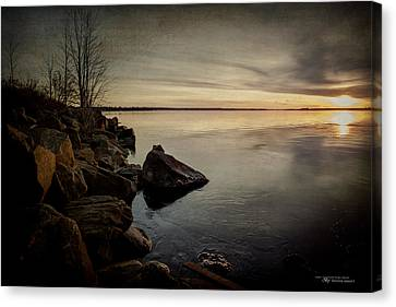 Kim Klassen Texture Canvas Print - A Thousand Words by Dustin Abbott