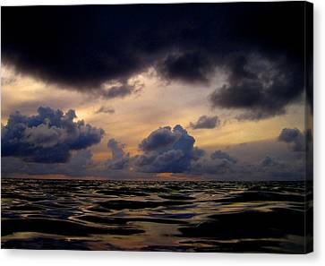 A Time Of Changes. Art On Maldives. Canvas Print by Andy Za