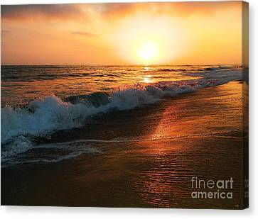 A Time To Heal Canvas Print by Everette McMahan jr