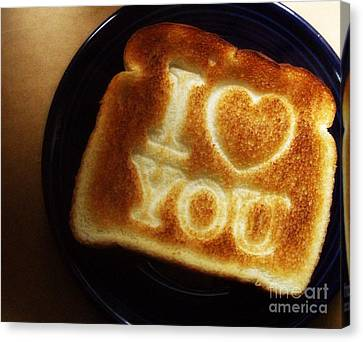 Canvas Print featuring the photograph A Toast To My Love by Kristine Nora