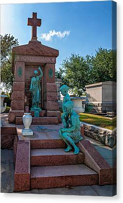 Metairie Cemetery Canvas Print - A Tomb To Die For by Steve Harrington