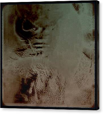 A Tormented  Mind Canvas Print