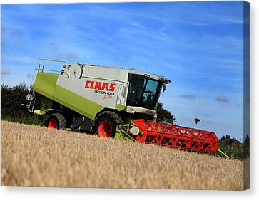 A Touch Of Claas Canvas Print by Paul Lilley