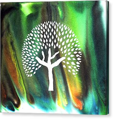 A Tree I Dreamt Of  Canvas Print by Sumit Mehndiratta