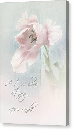 A True Love Story Canvas Print by Bernie  Lee
