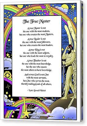 A True Master Canvas Print by Mike Flynn