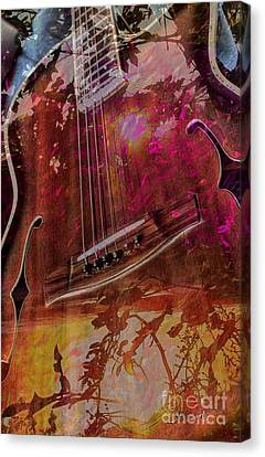 A Tune In The Woods By Steven Langston Canvas Print by Steven Lebron Langston