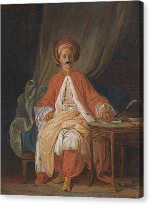 A Turkish Nobleman Canvas Print by Celestial Images
