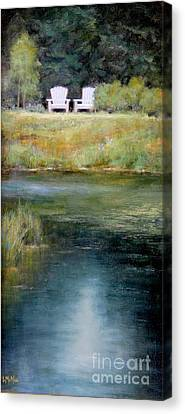A View For Two  Canvas Print by Lori  McNee