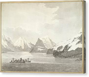 A View In Prince William Sound Canvas Print by British Library