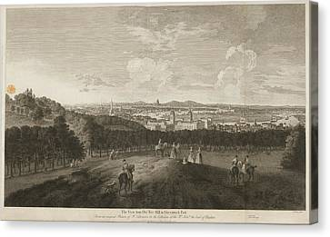 A View Of Greenwich Park Canvas Print by British Library