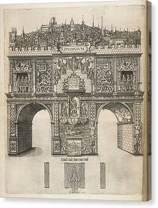 A View Of London Canvas Print by British Library