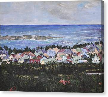 A View Of Orient Bay Canvas Print