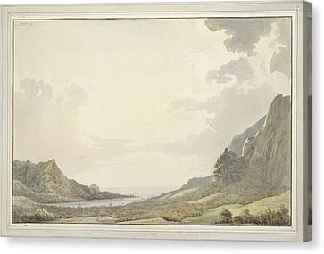 A View Of Papetoai Bay Canvas Print by British Library