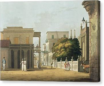 A View Of Part Of St. Thome Street Canvas Print