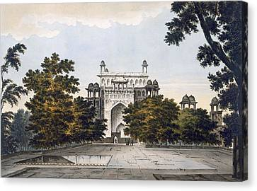 A View Of Part Of The Tomb Canvas Print