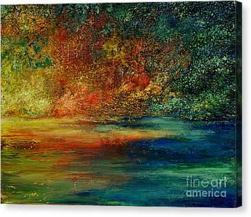 A View To Remember Canvas Print by Teresa Wegrzyn