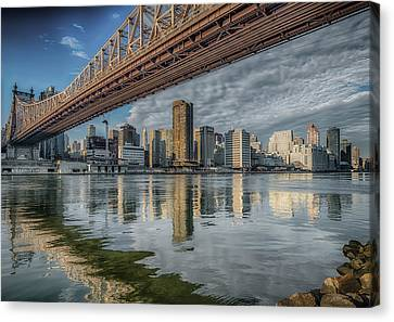 A View Under The Bridge Canvas Print